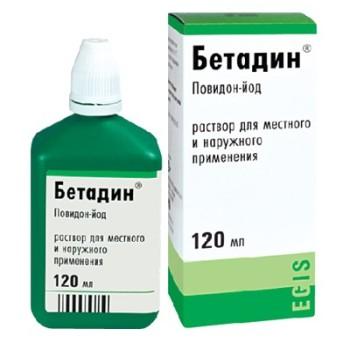 Как пользоваться бетадином