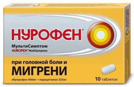 Нурофен Плюс в лечении приступов мигрени
