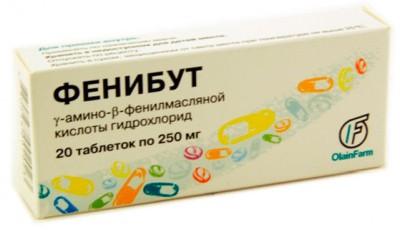 Фенибут купить без рецептов в интернет-аптеке с доставкой на дом