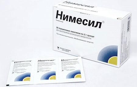 Нимесил дешевые аналоги в России
