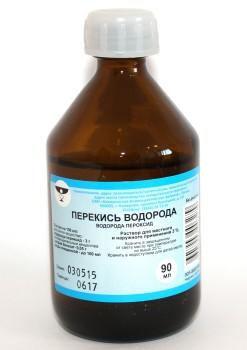 Аналог перекиси водорода хлоргексидин