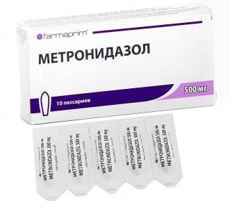 Метронидазол как часто можно пить
