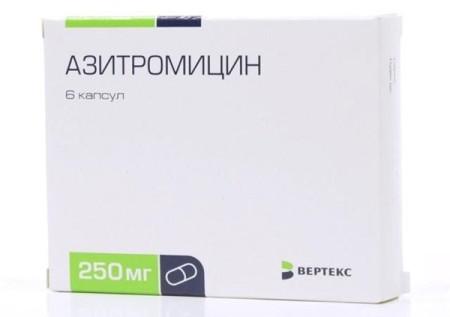 Азитромицин дозировка взрослым при ангине