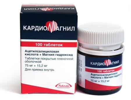 Кардиомагнил стенокардия