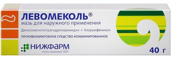 Левомеколь или левомицетин разница