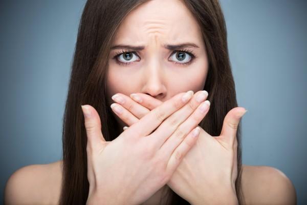 Перекись водорода от запаха изо рта