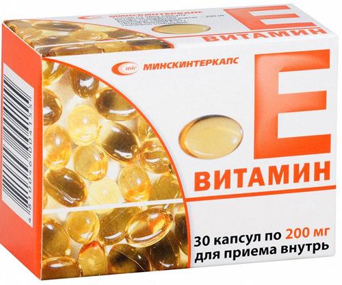Дозировка витамина е при лечении простатита